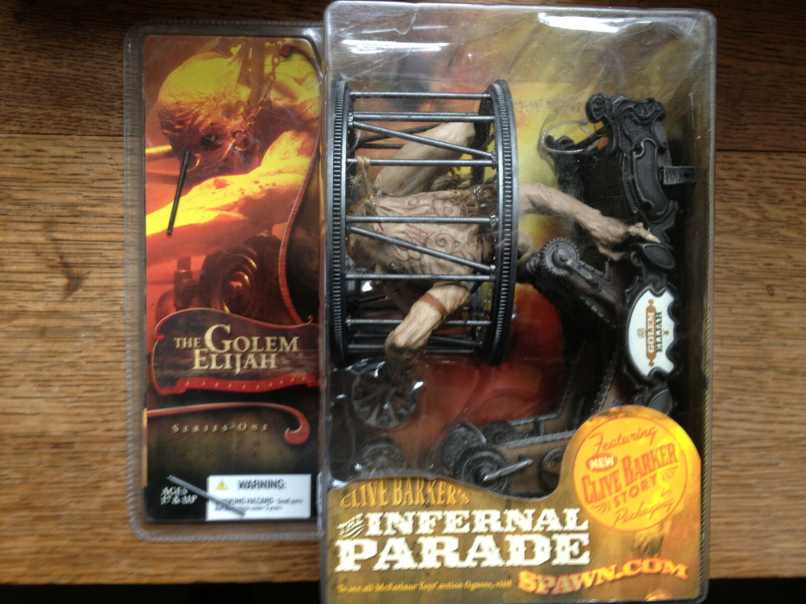 McFarlane Clive  Barker's Infernal Parade Series 1-A 3 Piece set Bre nuovo Sealed  online economico