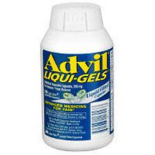 ADVIL LIQUI-GELS 240 CAPSULES BRAND NEW