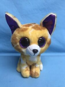 """Ty Beanie Boos Collection PABLO The Chihuahua 6"""" Stuffed Animal Toy 2017"""