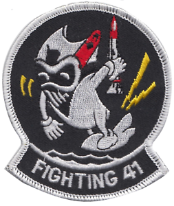 US-Navy-VFA-41-Strike-Fighter-Squadron-Embroidered-Patch-LAST-FEW