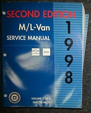 Werkstatthandbuch Chevrolet / GMC Astro & Safari (M/L-Van) 1998