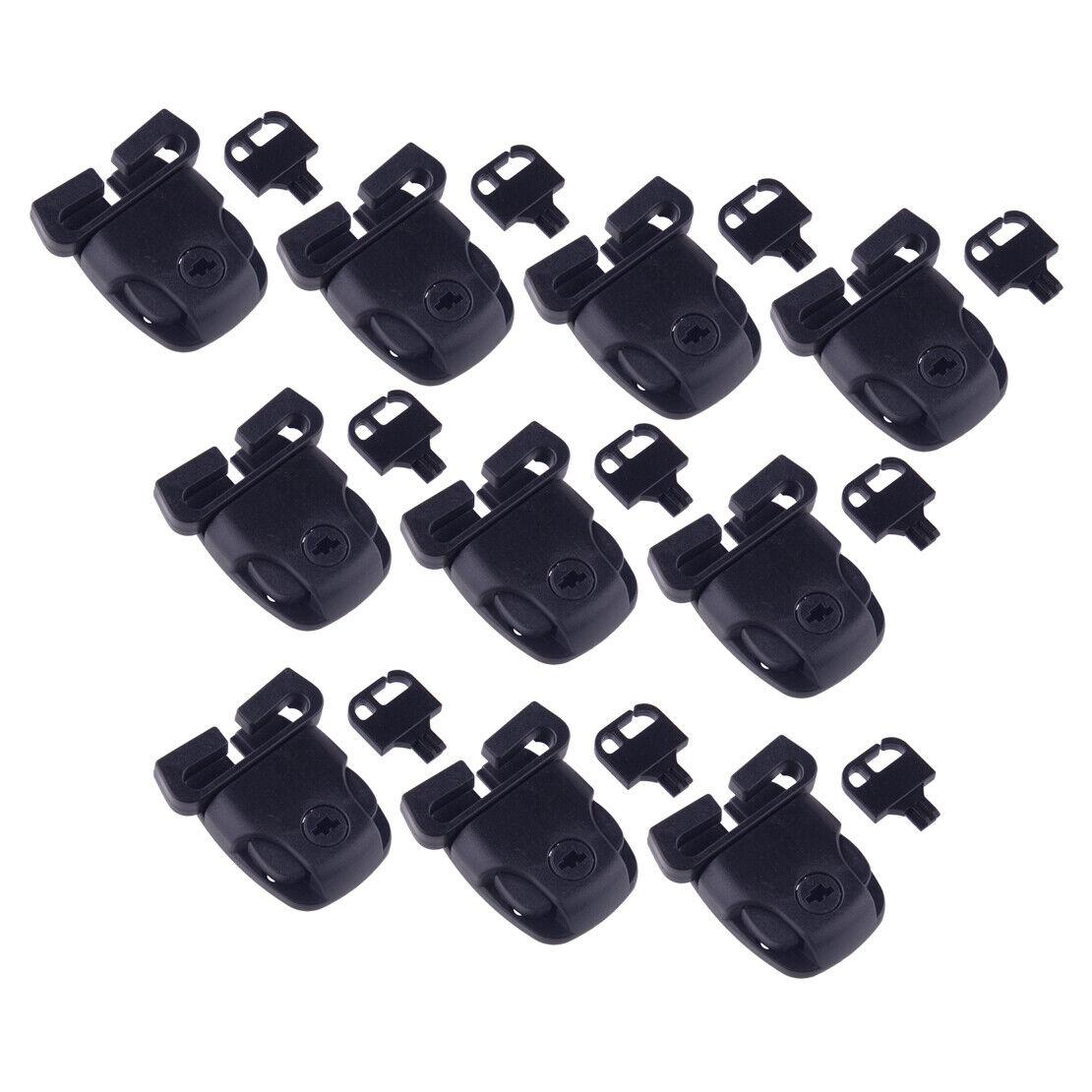 10 Spa Hot Tub Cover Broken Latch Repair Kit Clip Lock w/ Key