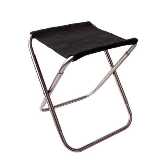 Mini Portable Folding Chair Fishing Camping Picnic Beach Stool Travel Outdoor