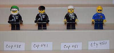 set 6471 1297 9371 cop041 Lego city Minifigure figurine Police