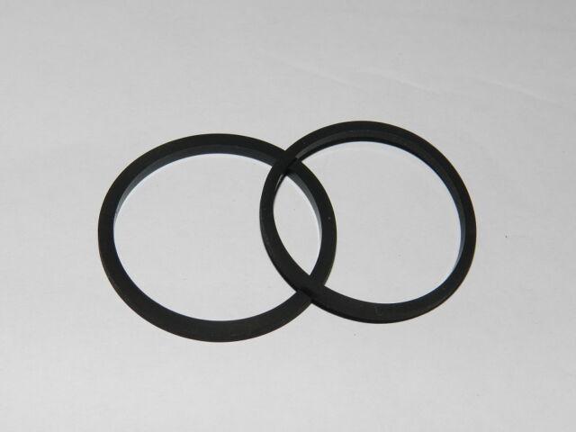 2 Square Belt for Tape CD Etc 59 x 1,0 MM