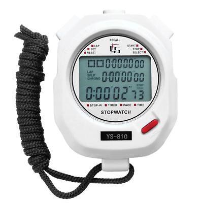 Digital LCD Stopwatch Running Sport Timer Counter Chronograph Stop Watch