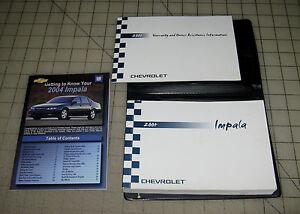 Free 2002 impala repair manual