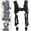 Black-Quick-Rapid-Double-Dual-Shoulder-Sling-Belt-Strap-for-DSLR-Digital-Camera thumbnail 1