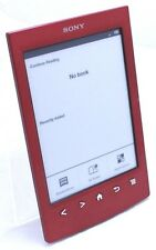 Sony PRS-T2 6 in. E-book Reader Wi-Fi Tablet - Red T2-1A