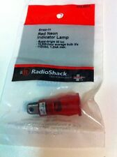 Snap In Red Neon Indicator Lamp 272 0001 By Radioshack
