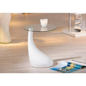 Table-basse-bout-de-canape-table-d-appoint-meuble-de-salon-carre-en-verre-BLANC