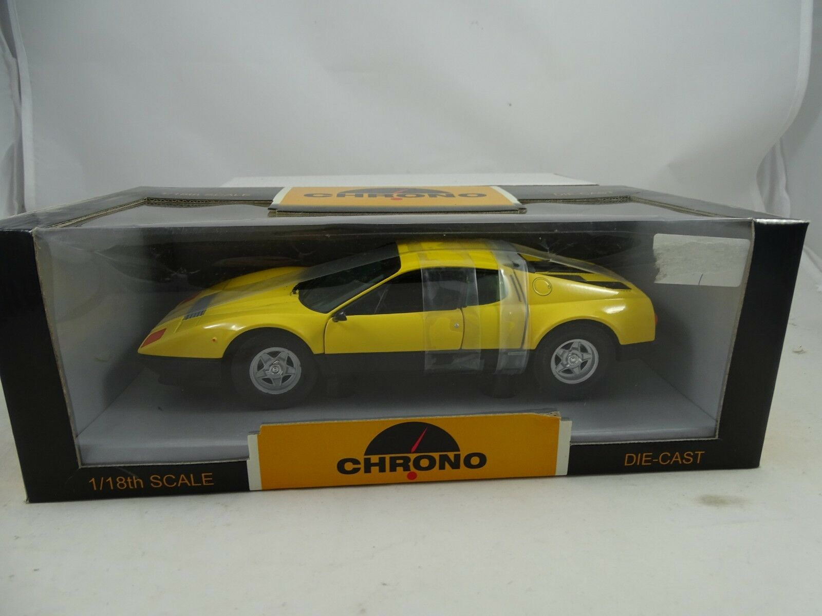 Chrono - Ferrari 512Bb Amarillo - Rareza