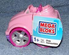 MEGA BLOKS PINK CONVERTIBLE SET #8271 AGES 1+