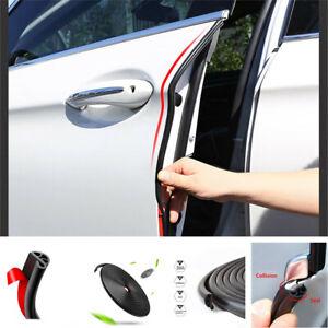 3M Black Rubber Car SUV Door Trunk Lip Edge Seal Trim Protector Strip waterproof
