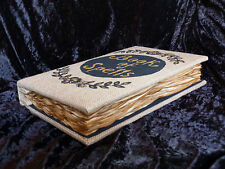 Harry Potter Book of Spells. XL handmade burlap journal album. Book of Shadows.