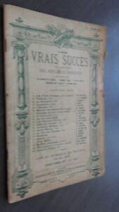 Partituras Las Pelo Succes Para Violín O Mandolina Leduc París Ex-libris ABE