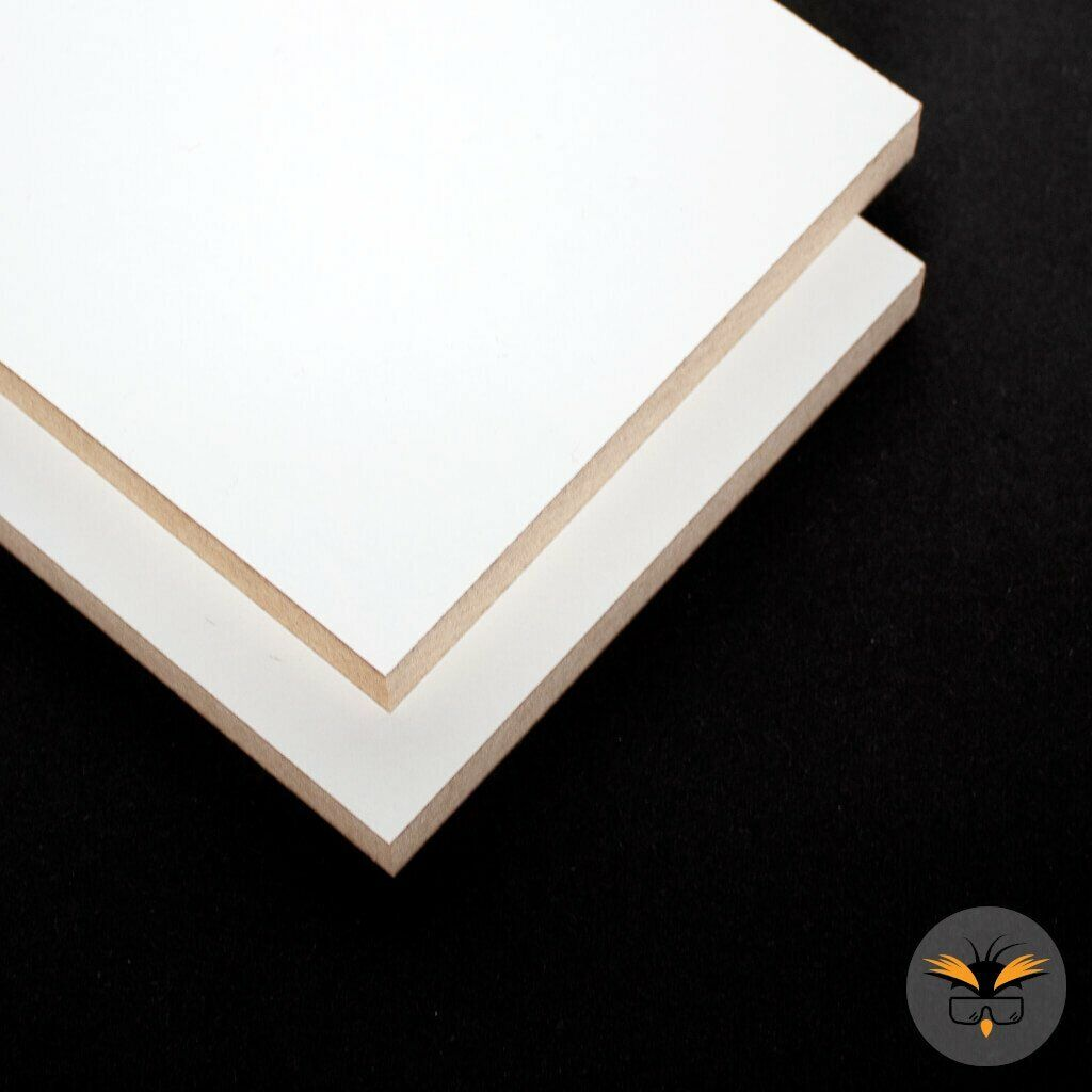 White Melamine MDF 18 mm A6 A5 A4 A3 A2 A1 Shelves, Tables & Cabinets
