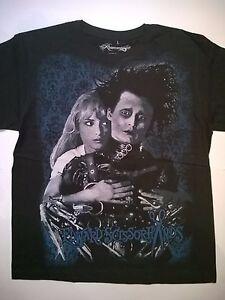 8c45add08 EDWARD SCISSORHANDS T-Shirt Tim Burton Johnny Depp Goth Beetlejuice ...