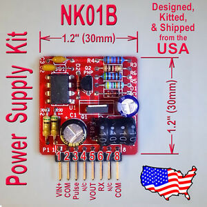 High-Voltage-Power-Supply-Kit-45V-to-190V-Out-for-Nixie-Old-Radio-Kit