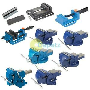 4-034-5-034-6-034-Heavy-Duty-Work-Bench-Vice-ingenieur-Mors-Pivotant-Base-atelier-Etau-Pince