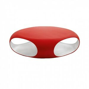 Tavolino Rosso Da Salotto.Dettagli Su Bonaldo Tavolino Pebble Rosso E Bianco Con Contenitore Da Salotto Design Td23