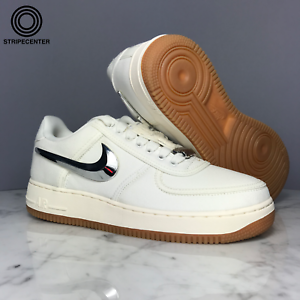 8ce064d522fcc5 AIR FORCE 1 LOW TRAVIS SCOTT  SAIL  - SAIL SAIL-GUM LIGHT BROWN ...