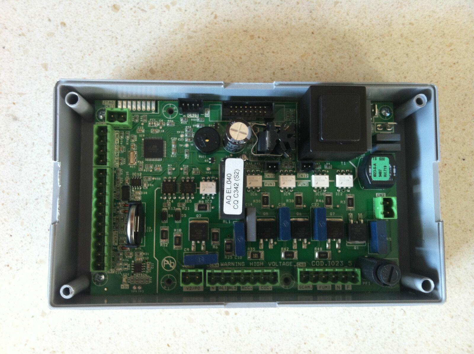 SCHEDA stufa a pellet MICRONOVA Mod. I023 SCHEDA GIA' PROGRAMMATA idro aria
