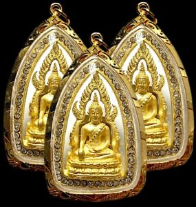 Pendant Phra Chinnarat Buddha Thai amulet Talisman Fetish Yant Life Protection
