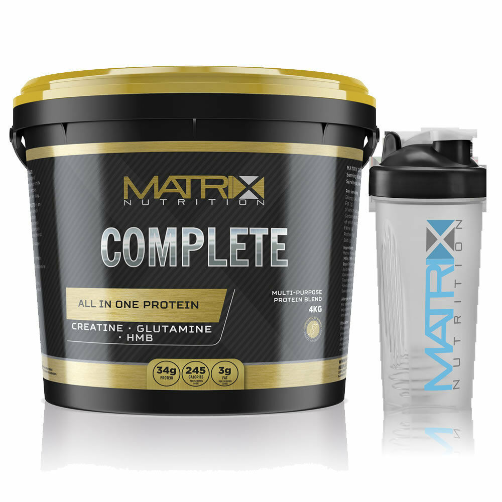 WHEY - PROTEIN-COMPLETE ALL IN ONE - WHEY ALL SIZES & FLAVOURS -  - BY MATRIX NUTRITION d9d96f
