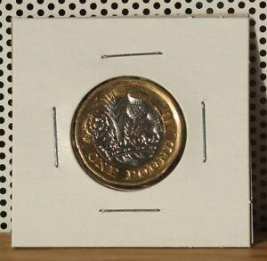 2017-One-Pound-UK-United-Kingdom-England-Great-Britain-Circulated