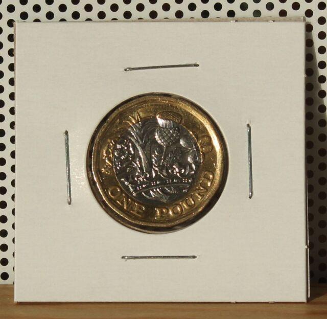 2017 One Pound; UK United Kingdom; England; Great Britain; Circulated
