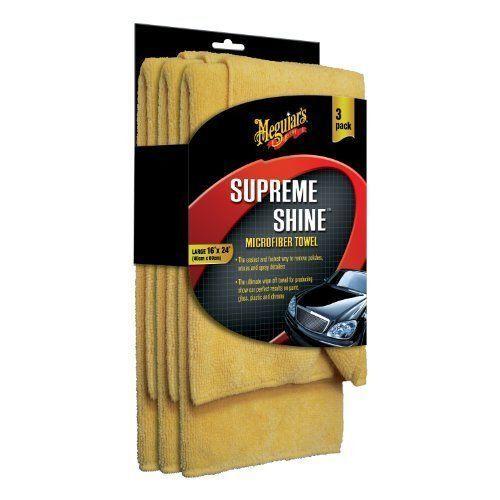 Pack of 3 Meguiars X2020 Supreme Shine Microfiber Towels