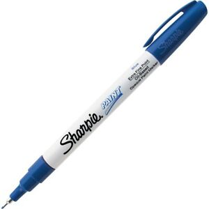 Sharpie-Paint-Oil-Based-Opaque-Paint-Marker-Extra-Fine-Point-Blue