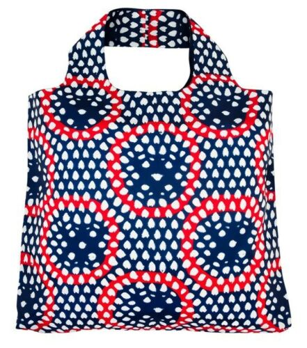 Envirosax Designer Reusable Foldaway Eco Shopping Bag Open Top Tokyo Range