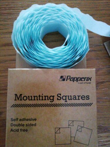 Paquete De 2 Plazas de montaje para Tarjeta Artesanía y scrapbooking doble cara libre de ácido