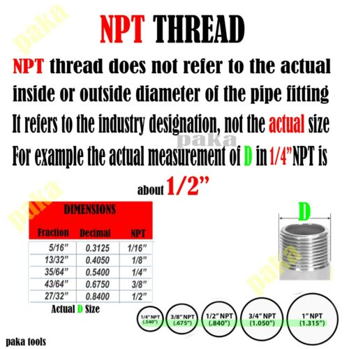 """2PC 1//4/"""" HOSE BARB ELBOW X1//8 MALE NPT Brass Pipe Fitting Thread Gas Fuel Water"""