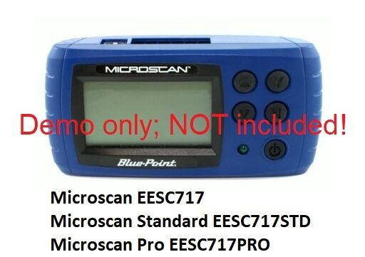 5-FT BluePoint MicroScan Scanner EESC717 OBDII OBD2 Cable Replaces EAX0069L00A