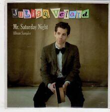 (GQ676) Julian Velard, Mr Saturday Night sampler - 2010 DJ CD
