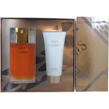 Must De Cartier EDT Spray 3.3 oz & Body Cream 3.3 oz