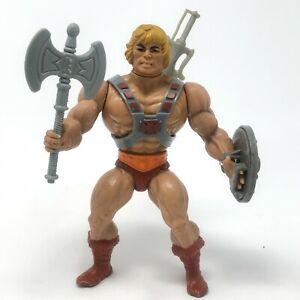Vintage He Man MOTU figure lot HE-MAN 1981 Masters of the Universe Complete RARE