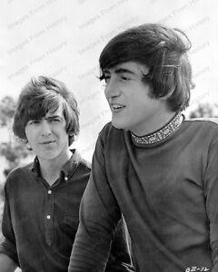 Image Is Loading 8x10 Print Beatles John Lennon George Harrison Hard