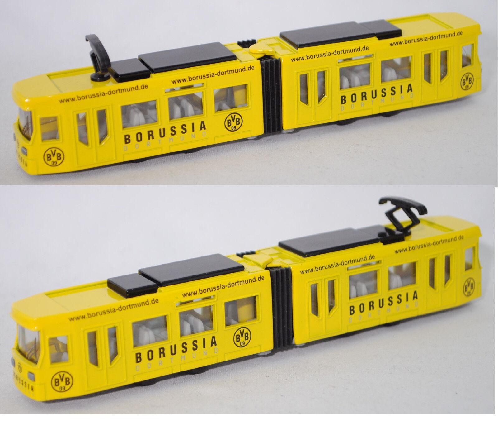Siku Super 1615 00401 bombardier tranvía, borussia-dortmund, werbemodell