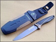 7.25 INCH OVERALL GERBER MYTH COMPACT FIXED BLADE BUILT IN SHARPENER