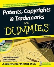 Patents, Copyrights and Trademarks for Dummies® by Henri J. A. Charmasson,...