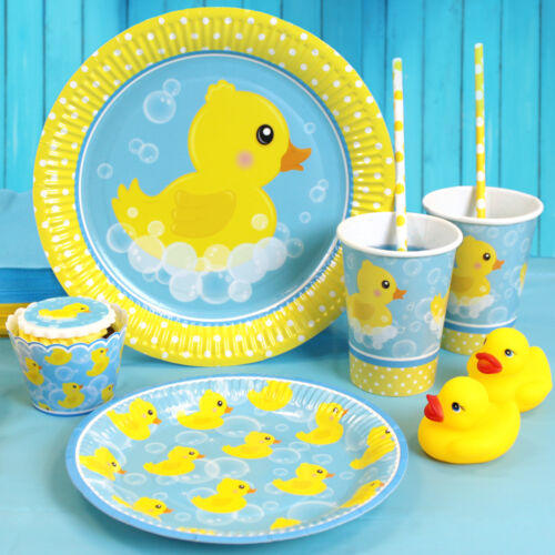 party supplies// props decorations ALL LOVELY BUBBLY rubber duck party