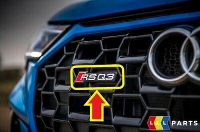 Silber rsq3 RSQ3 Front Grill Badge für audi AUDI audisport RS RSQ3 RSQ5 RSQ7