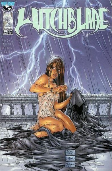 WITCHBLADE # 14 NM- (Top Cow, 1996) original Comic Book