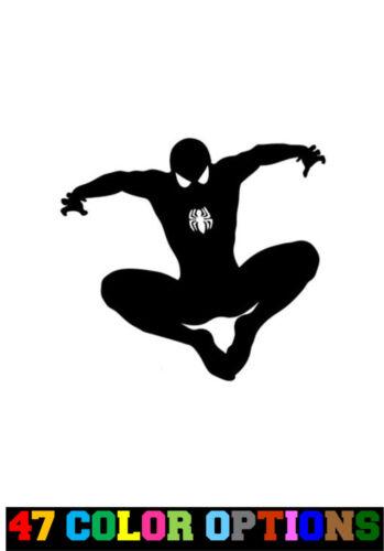 Marvel Comics Avengers Spider-Man Jump Vinyl Decal Truck Car Sticker Laptop