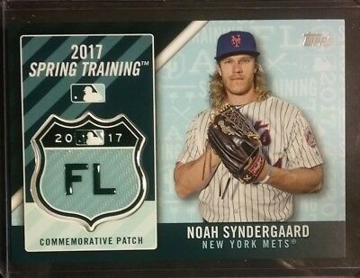 2017 Topps NOW 68 Noah Syndergaard Mets Record 30 Ks NO BBs in 1st 4 starts