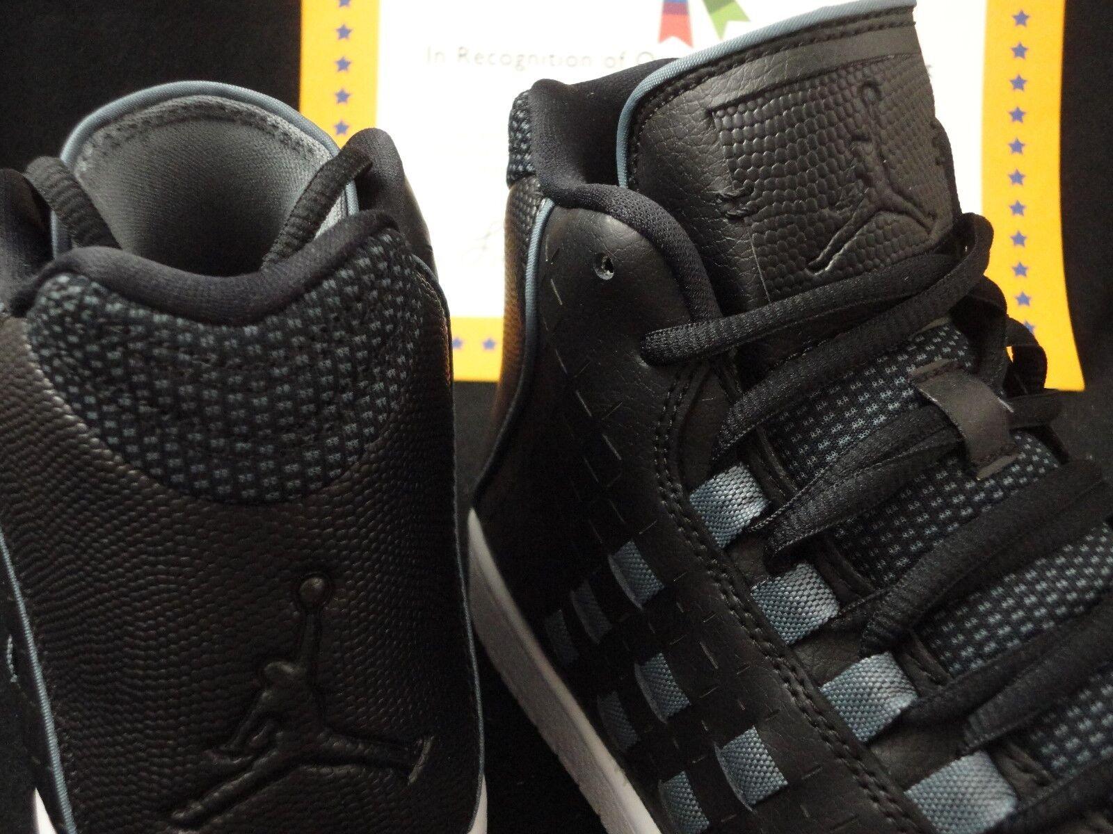Nike Jordan Illusion, Black / Blue Graphite, Nike Dunk Sole, Size 11